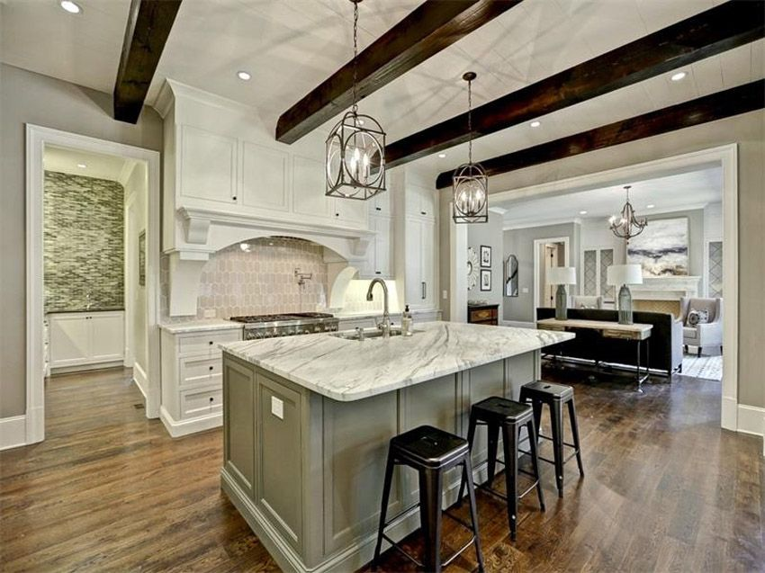 Gorgeous Contrasting Kitchen Island Ideas Pictures Luxury