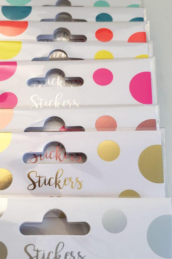 Que De Jolies Couleurs Chez Nos Stickers Decoratifs Collection