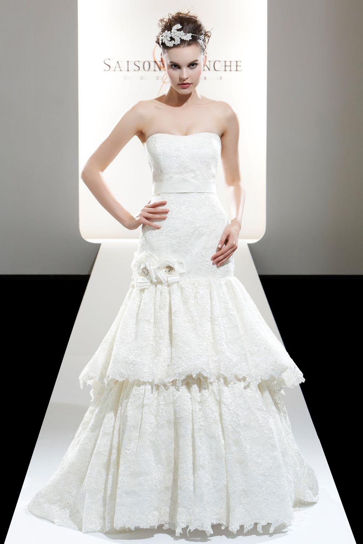 Saison blanche couture weddings bridal dresses pinterest