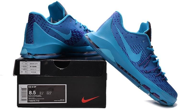 Nike KD 8 Royal Blue Black1