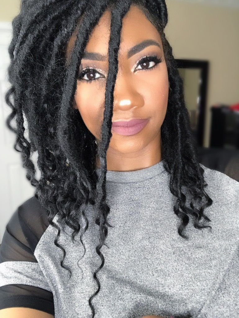 Best Hairstyle For Thin And Fine Hair | Locs, Faux locs and ...
