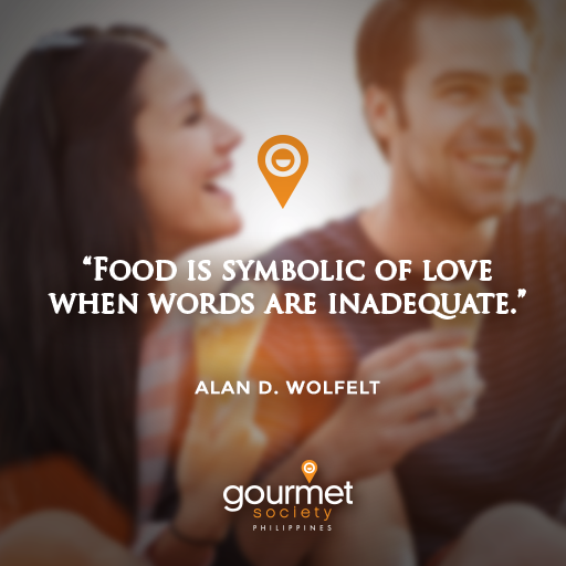 Food Is Symbolic Of Love When Words Are Inadequate Alan D Wolfelt