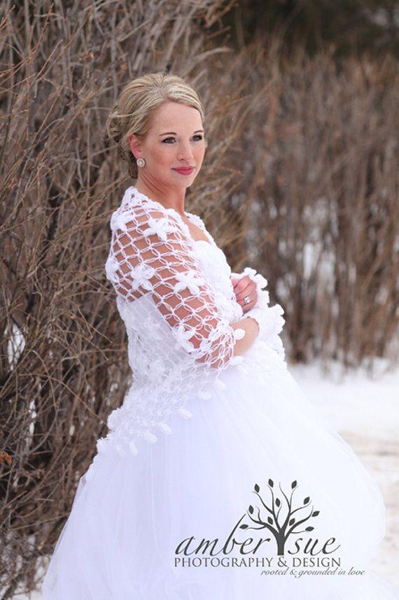 Bridal Shawl ShrugWhite Bolero White Shrug Summer