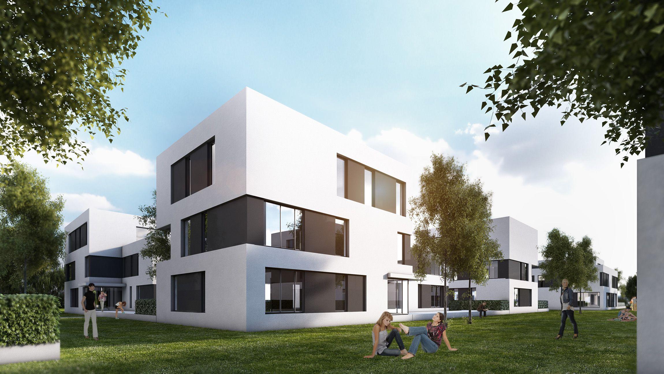 Schanzercarree Ingolstadt 4 Wohnungsbau, Architektur und