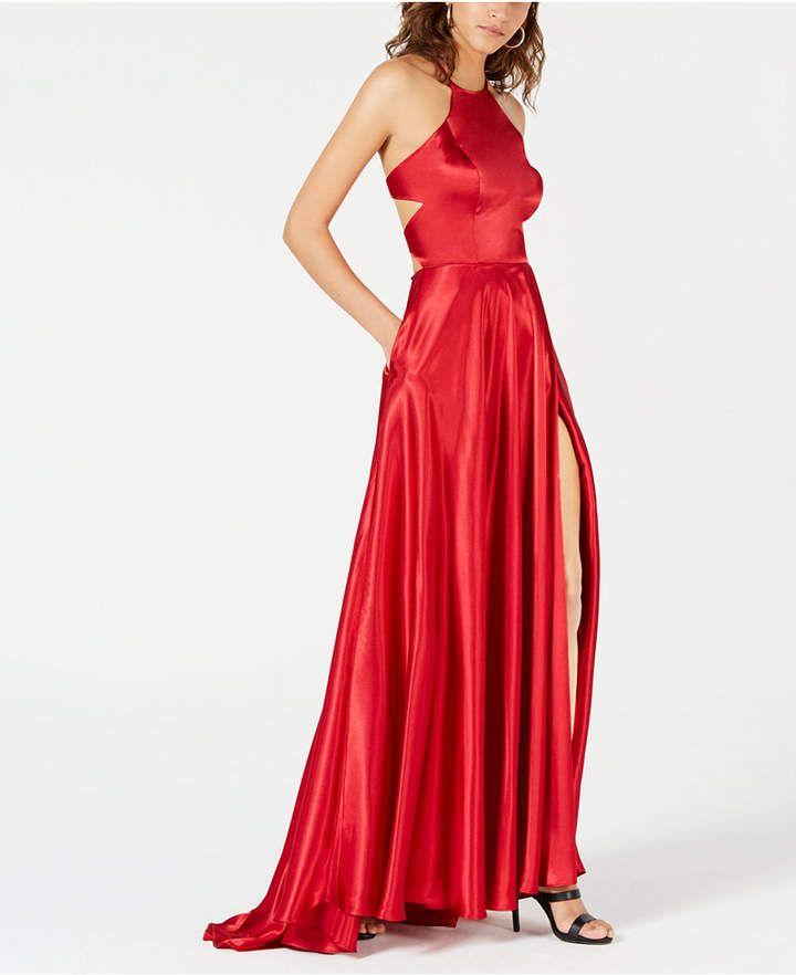 4f81cf7520d Blondie Nites Juniors  Tie-Back Evening Gown