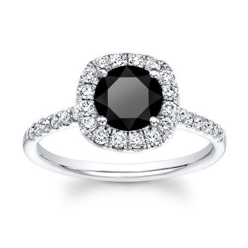 Charmant Black Stone Engagement Ring | Engagement Rings | Pinterest | Black .