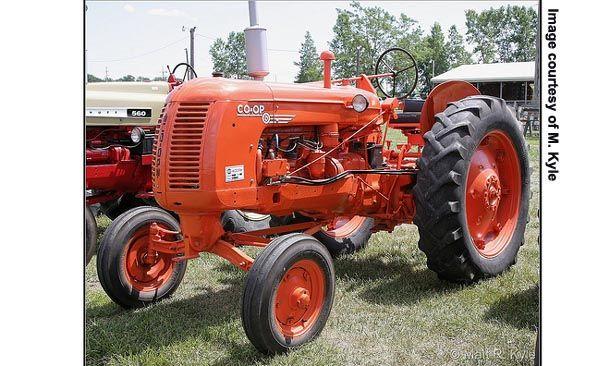 co op tractors | CO-OP E4, left side Photo courtesy of M. Kyle