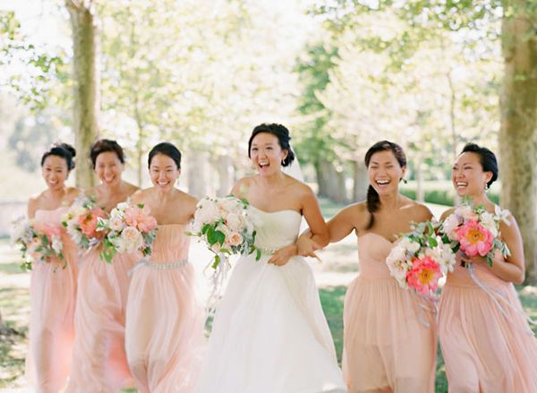 Kristine C Justine How About A Blush Color We Can Look Like These