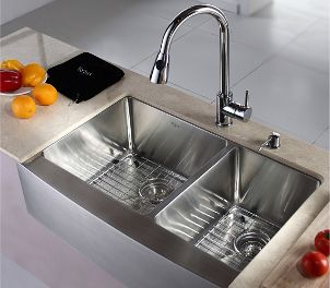 Tips and Ideas | Stainless steel kitchen, Sinks and Countertop