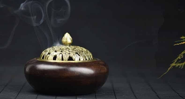 Sandalwood Censer,Bedroom Decoration Details about  /Ebony Zen Censer Wood Censer Burner