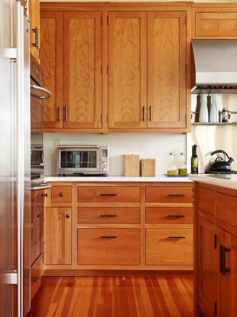 Transitional Island Style Cream Kitchen Oak Cabinets 50 000
