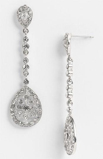 Nina #Jewelry #Nina #\'Maegan\' #Filigree #Chandelier #Earrings Nina ...
