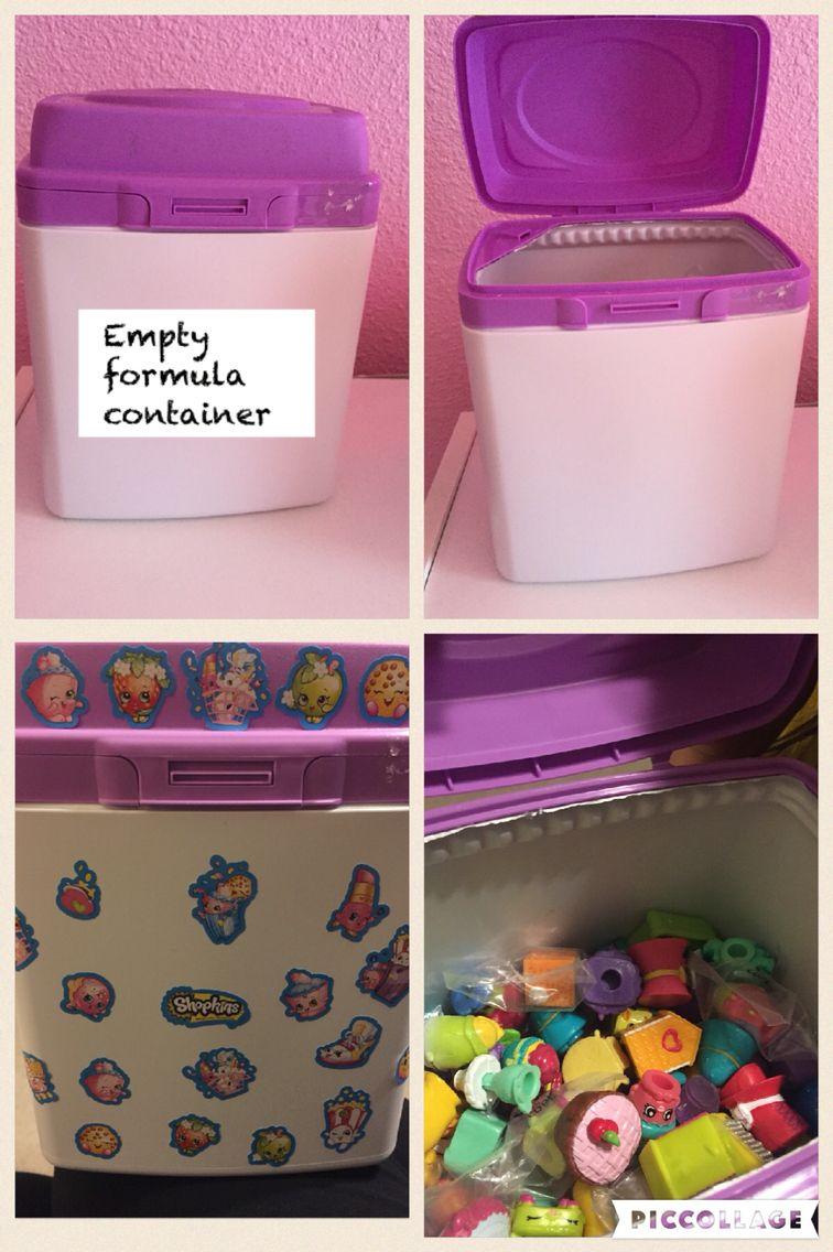 Blue Storage Kids Toy Box Playroom Furniture Bedroom Girls: Shopkins Room, Kids