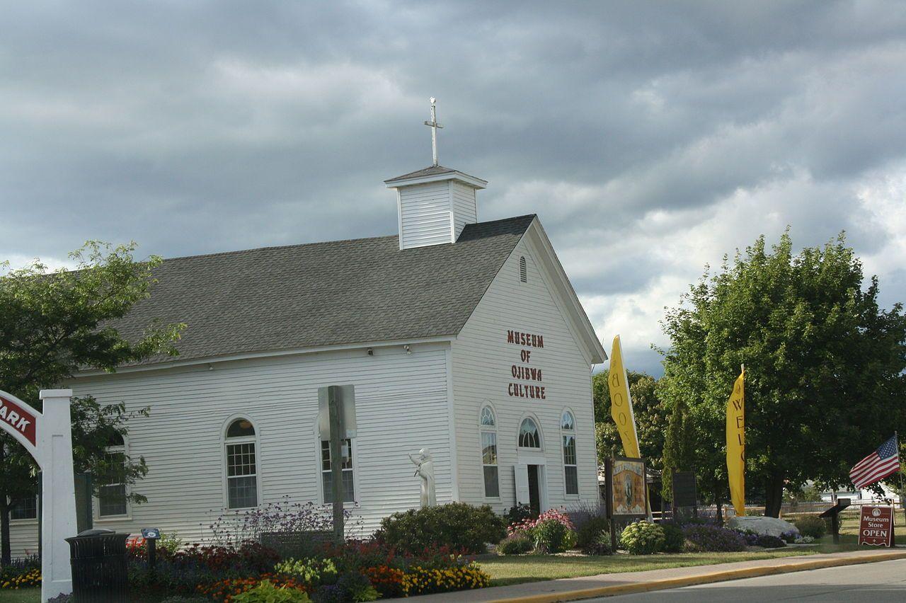 St. Ignace Mission in Mackinac County, Michigan.