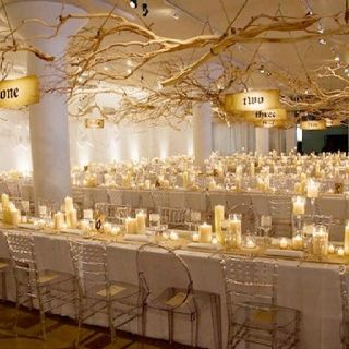 Sit Down Dinner Candle Wedding Centerpieces Non Floral Centerpieces Wedding Centerpieces