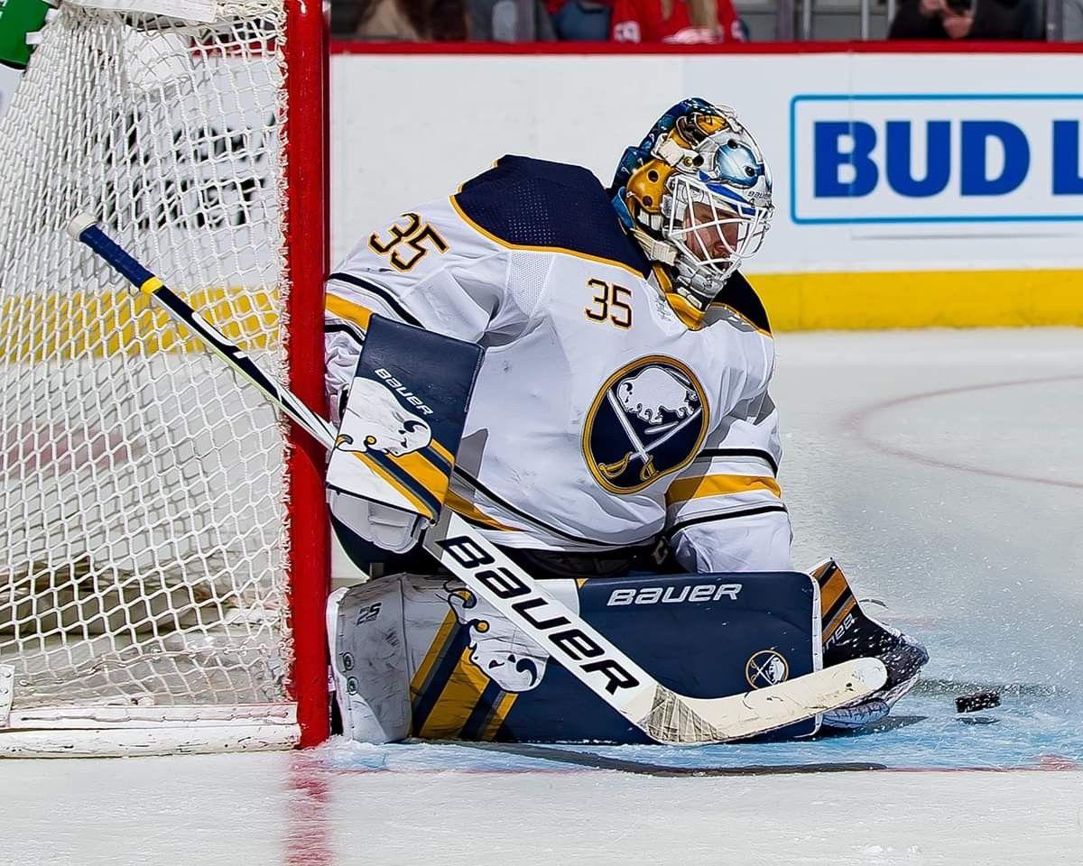 Linus Ullmark, goalie 2019 Goalie, Buffalo sabres