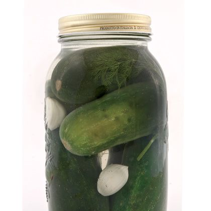 Did you know adding grape leaves to your pickles provides extra crispness?