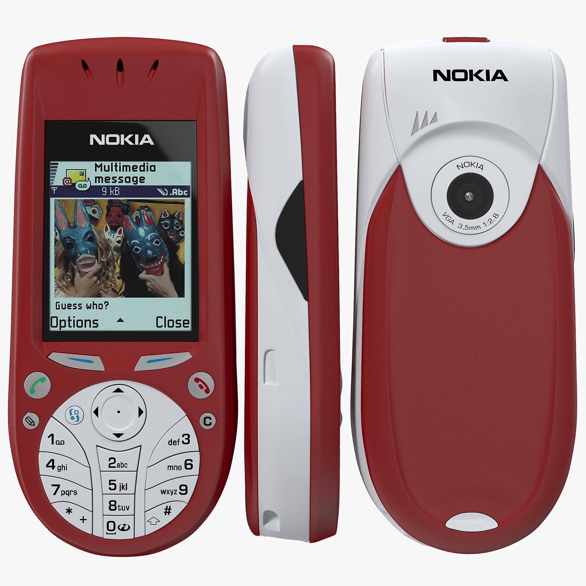Nokia 3660 3D Model AD ,NokiaModel in 2020 Nokia