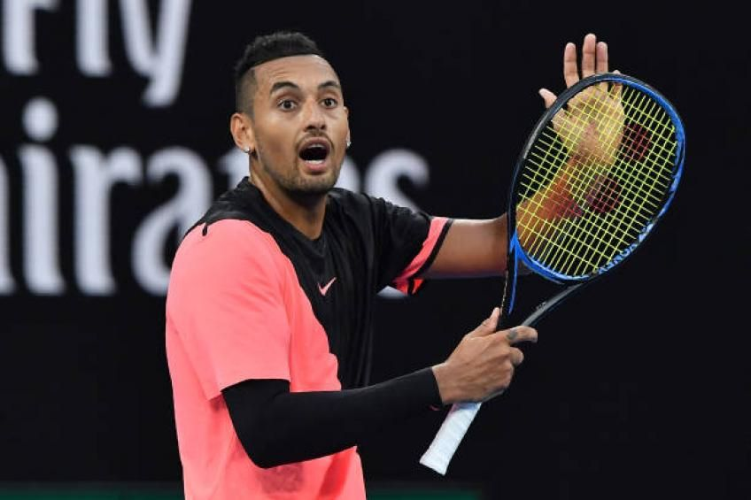 Nick Kyrgios I Go Dinner With Umpires All The Time In 2020 Soccer Tennis Nick Tennis Players
