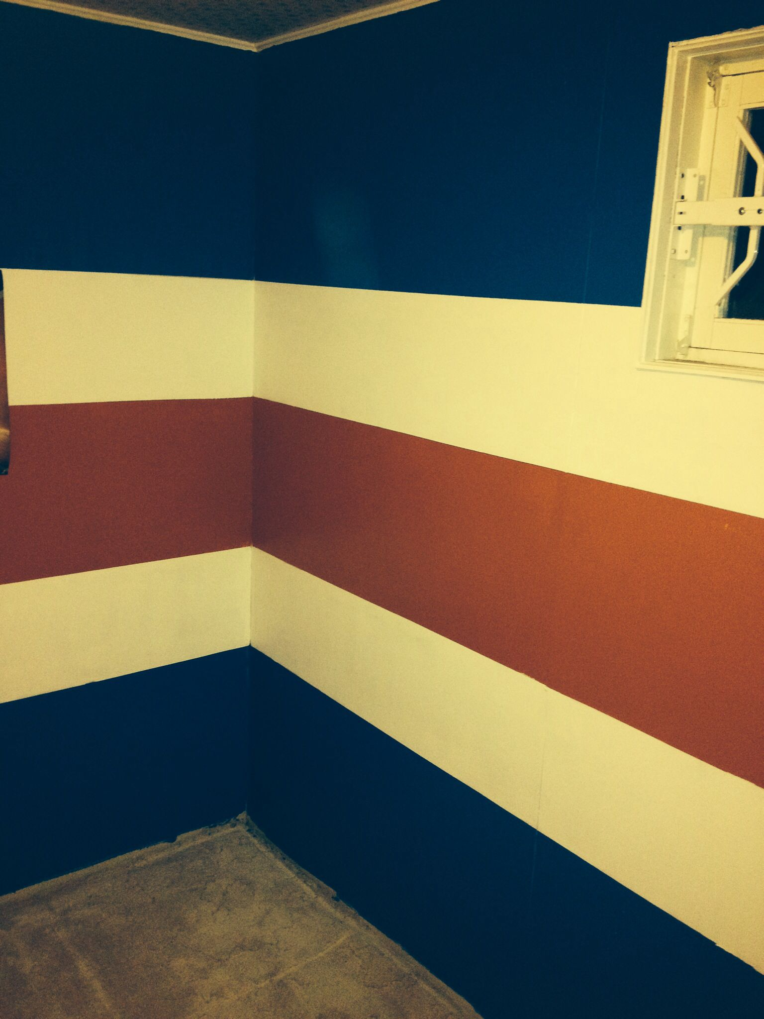Oiler room complete :) | home | Pinterest | Room, Hockey room and ...