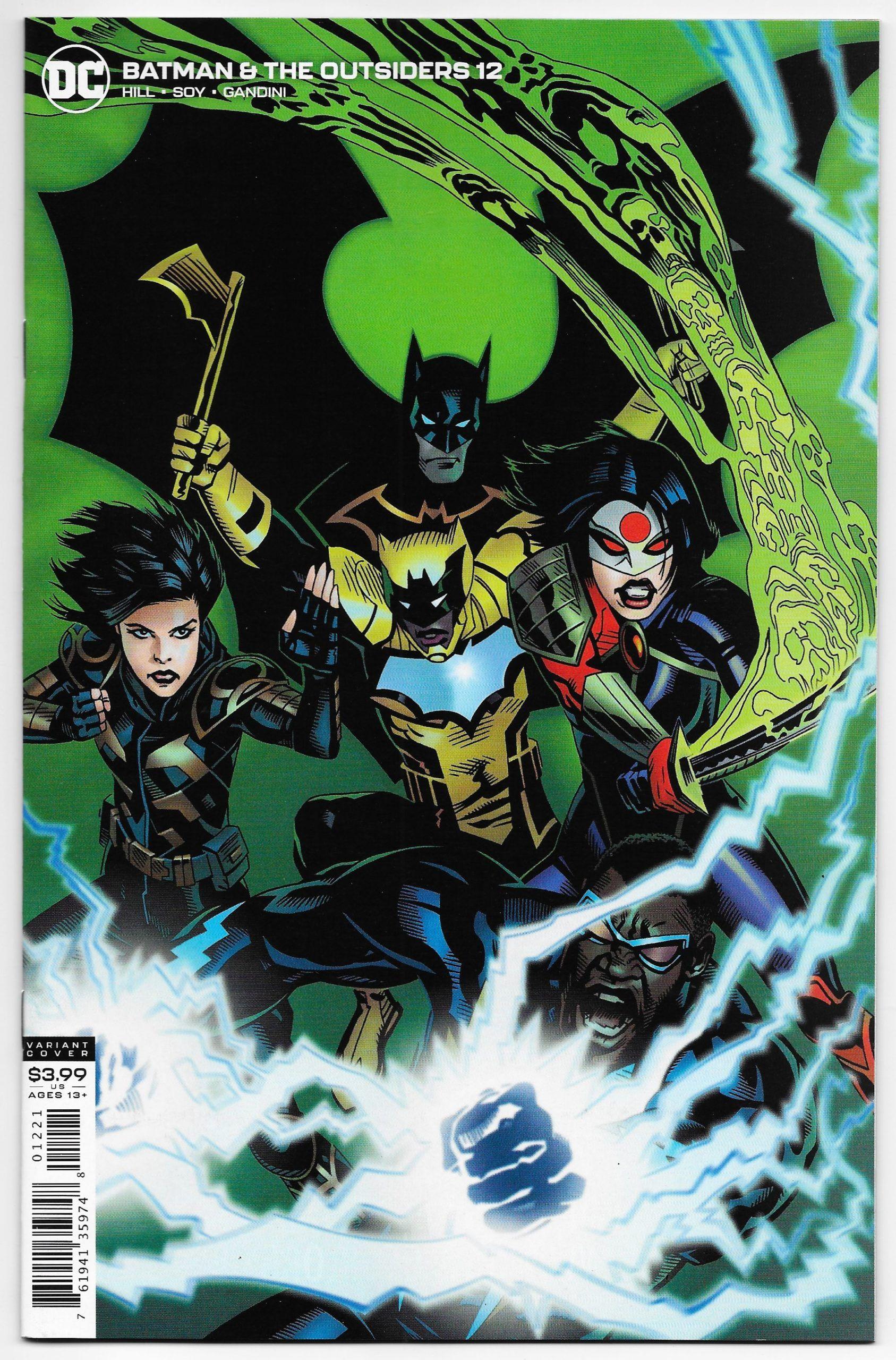 Batman And The Outsiders 12 Michael Golden Variant Dc 2020 Nm Batman Comics Dc Comics