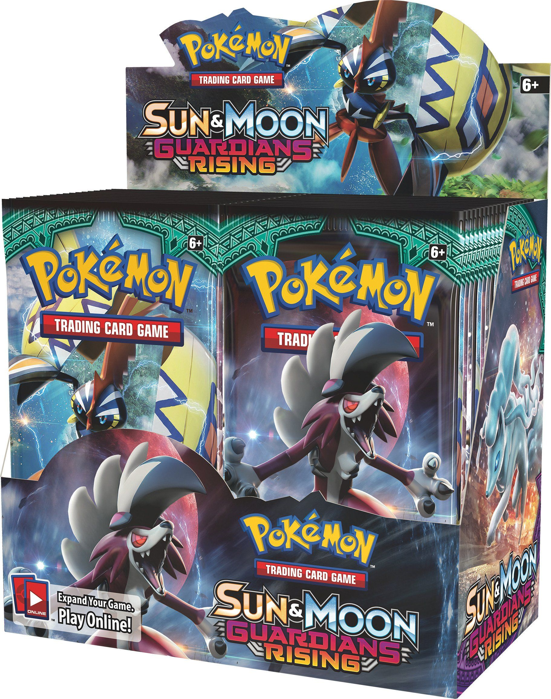 Pokemon TCG Unbroken Bonds Booster Box 36 Booster Packs Sun /& Moon