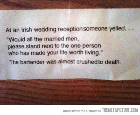 Irish Wedding Kiss Me Im Irish Pinterest Funny Humor And
