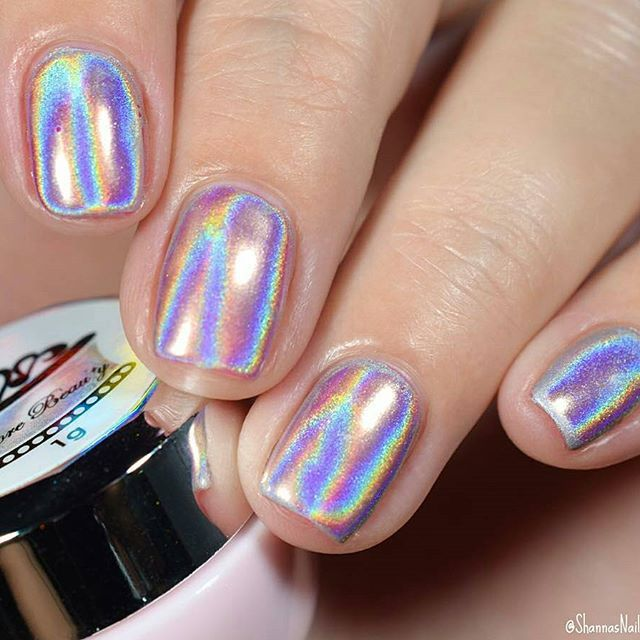 Holographic Unicorn Powder Available At Dailycharme Com Via Nail Charms