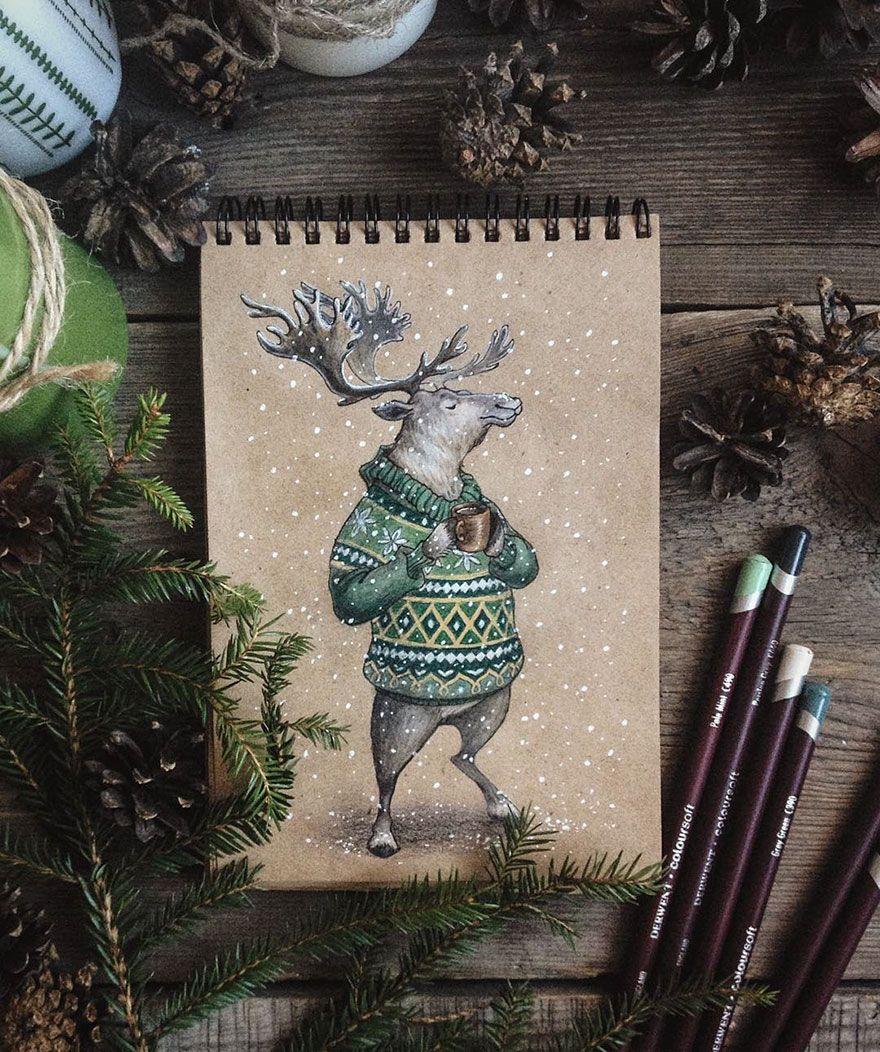 Les Dessins Aux Crayons De Couleur De Lia Selina Art Pencil