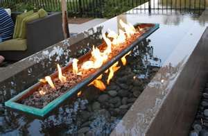 Fire And Water Garden Feature