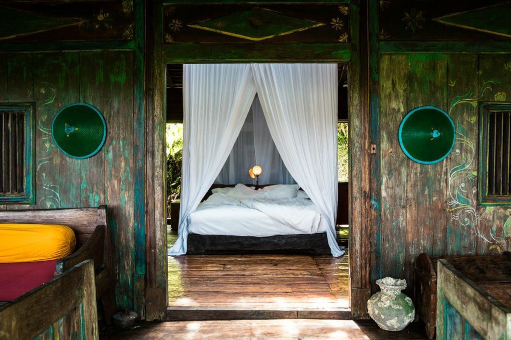 Bambu indah bali bambu indah combines the use of restored antique houses with much