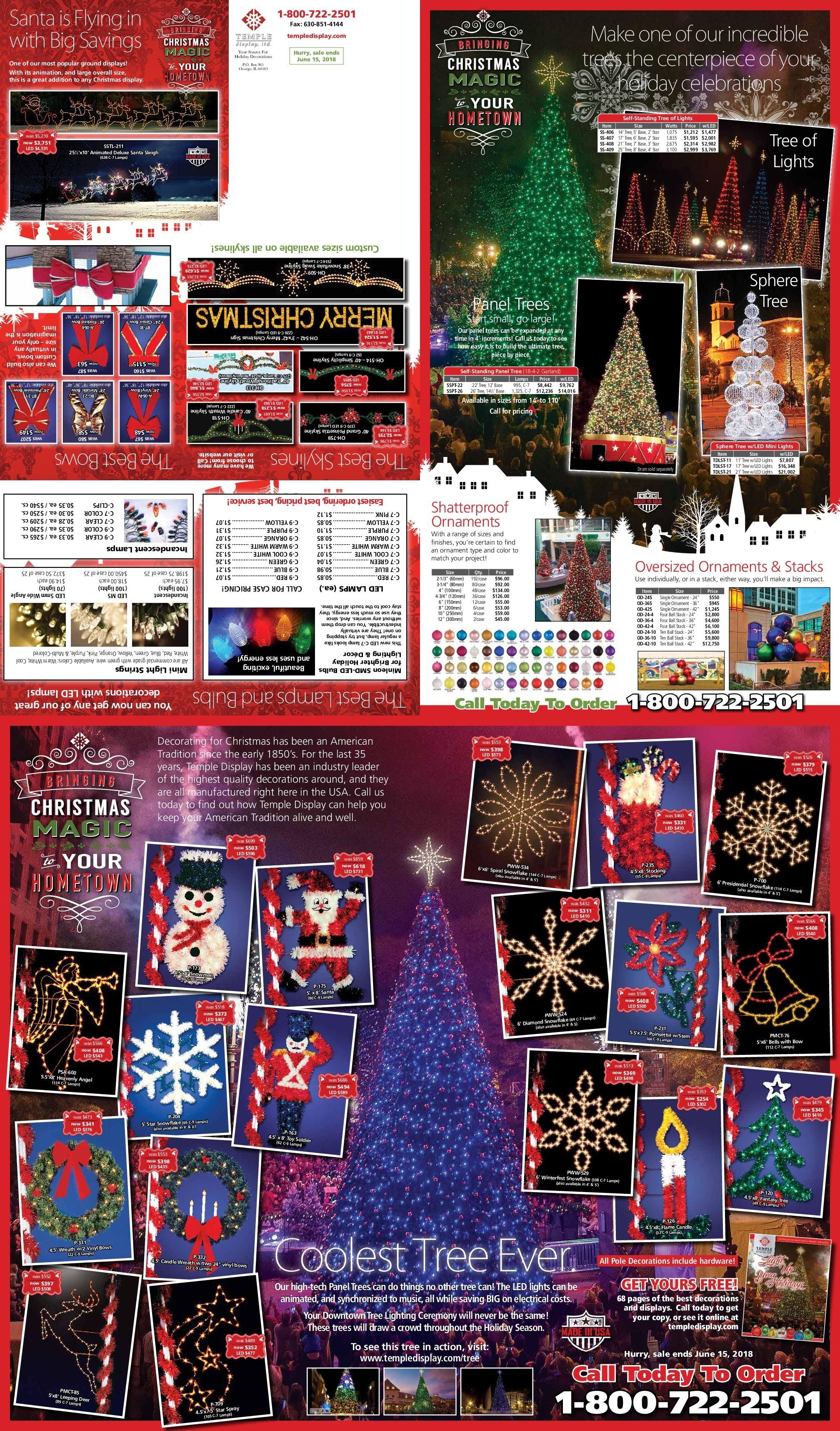 Get Your Free Commercial Holiday Decor Catalog For Cities ...