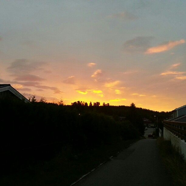 Sunrise @ Siggerud