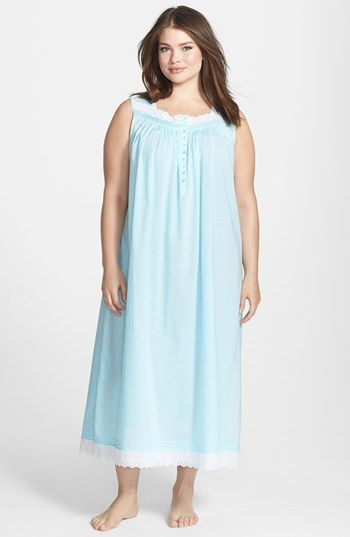 2c632eb5094 Eileen West  Sparkling Sea  Ballet Nightgown (Plus Size)