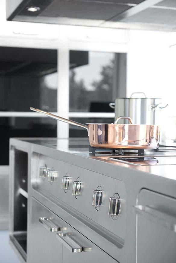 Küche Abimis Prisma Modernes Design Edelstahl Material | Küchen