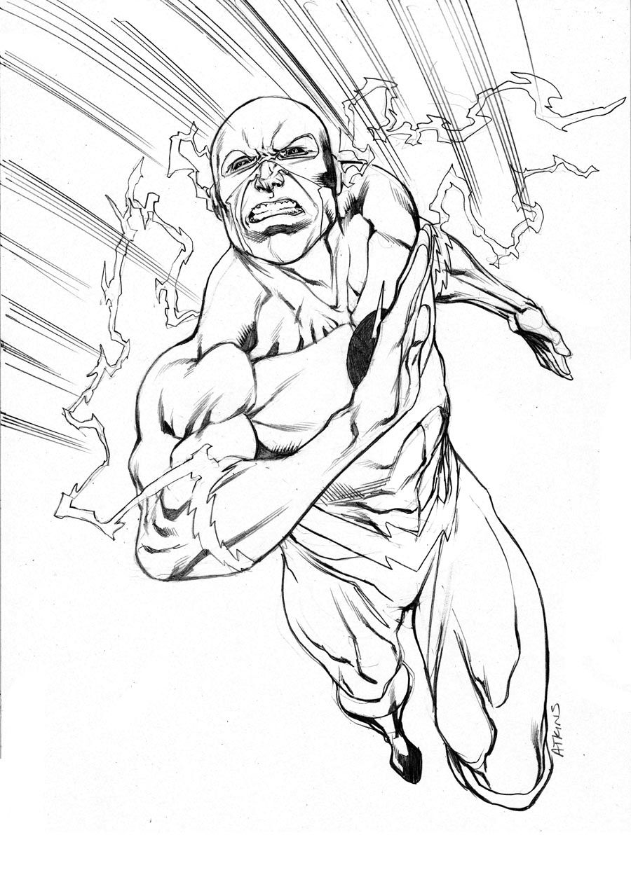 Reverse Flash Sotd Superhero Coloring Pages Cartoon Coloring Pages Superhero Coloring