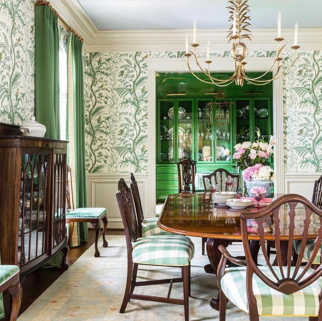 I LOVE everything about this dining room! creativetonic