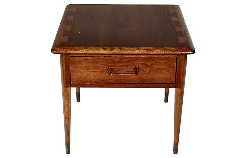 1960s Lane Furniture Walnut Side Table Now 380 00 Was 475 00 Walnut Side Tables Lane Furniture Furniture