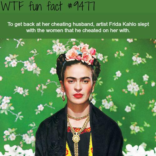 artist frida kahlo wtf fun fact