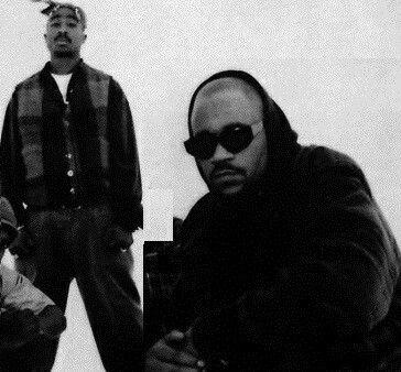 2Pac & Big Syke | Gangsta rap hip hop, Big syke, Gangsta rap