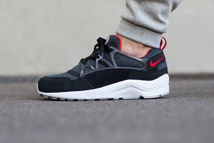 buy online 1a5f1 f83f4 On foot look at the Nike Air Huarache Light Black Red. Coming soon. http