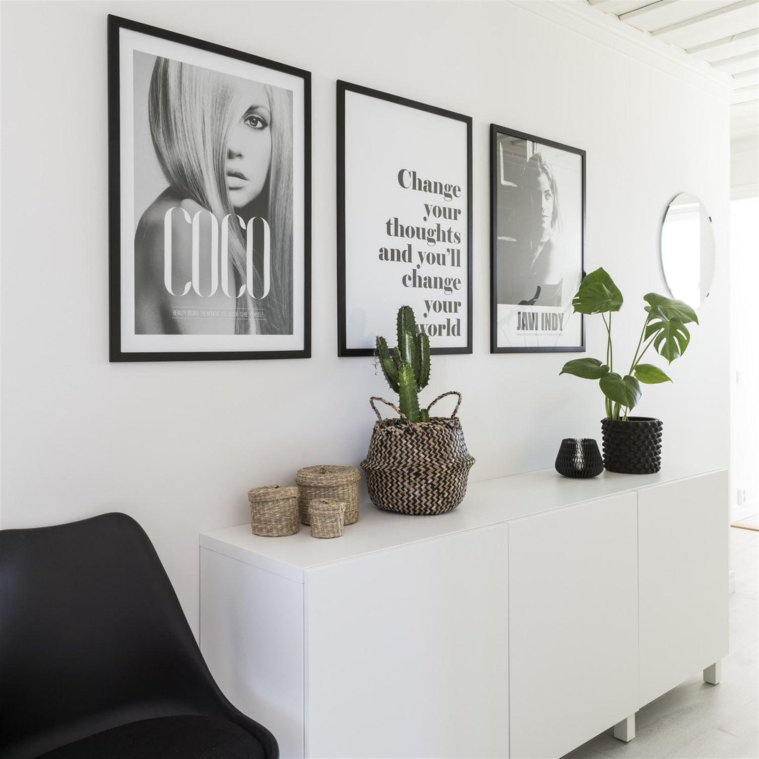 black and white framed prints | Minimalist Decor | Pinterest ...