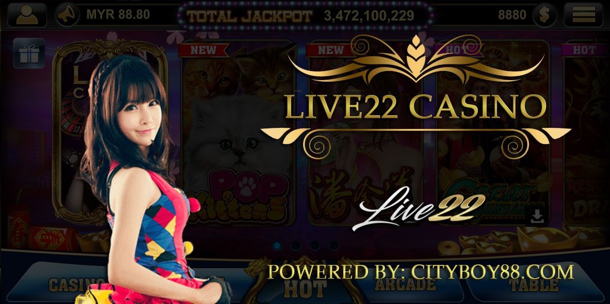 Live22 Download Slot Game And Casino. Live22 being the