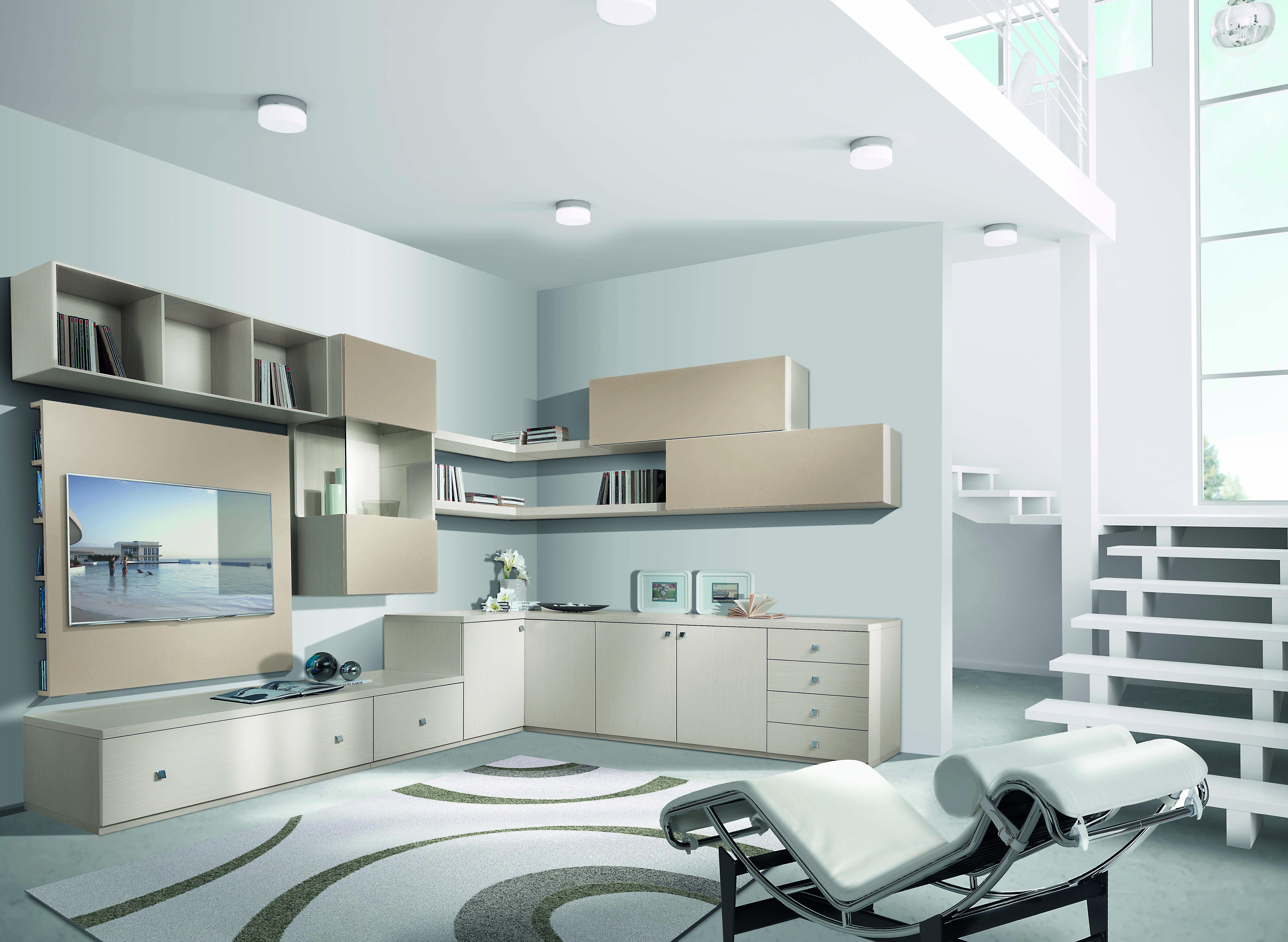 Bellissimo Salotto Salottitime Beautiful Living Room Fantastic Design Www Chiarelliarreda It Magasin Meuble Mobilier De Salon Meuble Rangement Salon