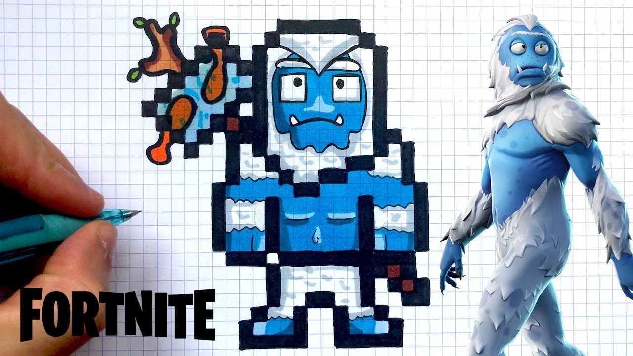 Fortnite Skins List En 2020 Dibujos Pixelados Dibujos En