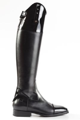 Brogini De Niro Ottaviano Patent & Crystal Top Dressage Boots ...