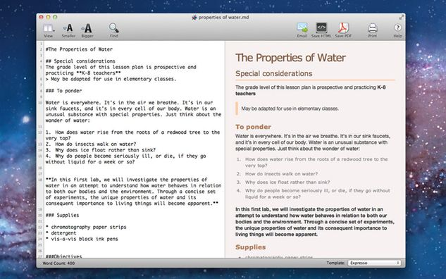 Apps We Actually Use Markdown Pro for editing text and