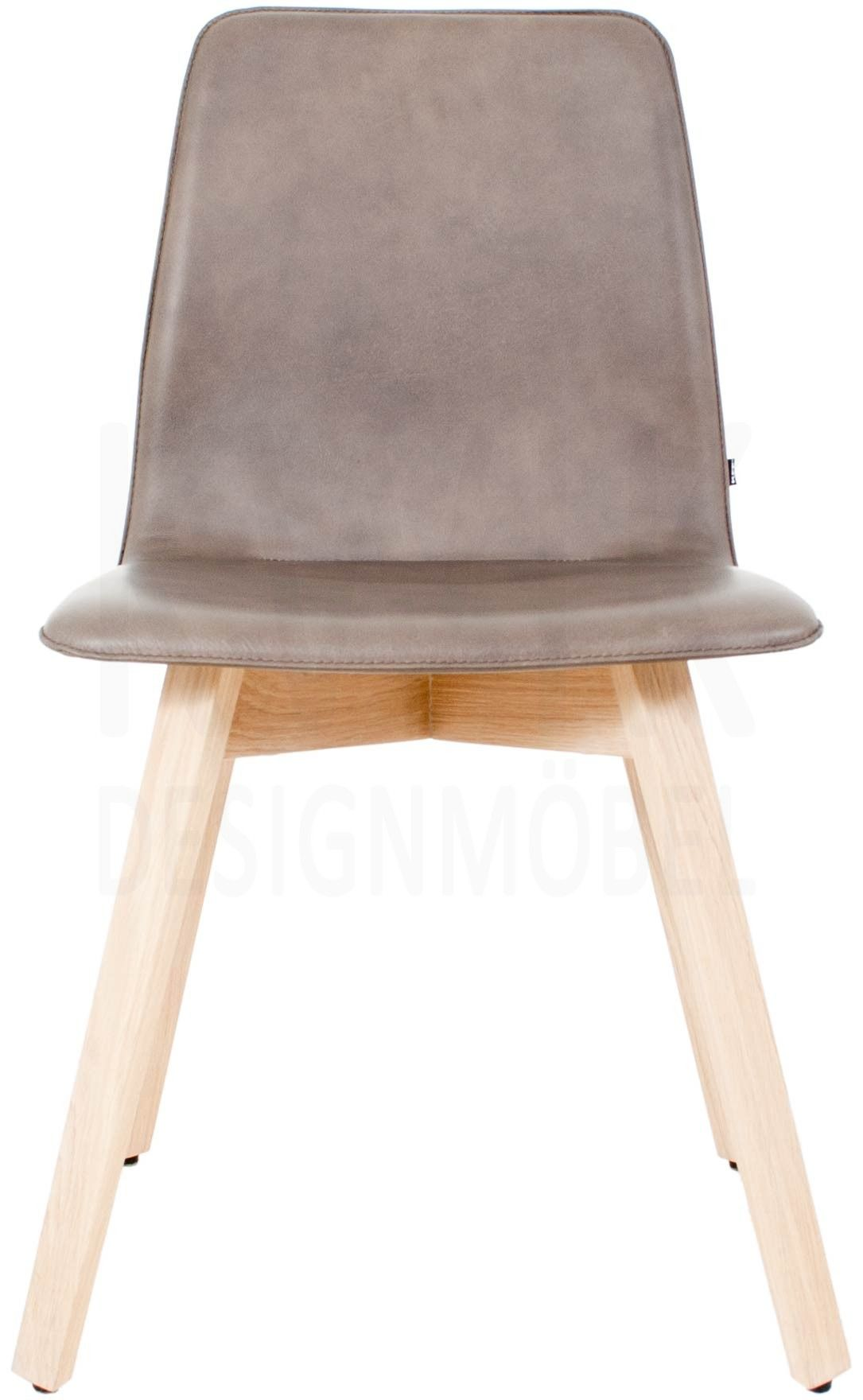 kff maverick polster stuhl leder grau gestell eiche weiss kff shop stuhl pinterest. Black Bedroom Furniture Sets. Home Design Ideas