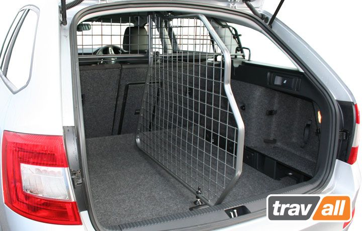 Travall Divider For Skoda Octavia Estate 2013 On Ideal For A Safe And Secure Boot Area And Is A Vehicle Sp Dog Car Accessories Skoda Octavia Bumper Protector