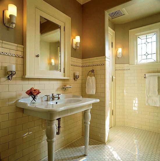 Miscellaneous : Classic 1920s Bathrooms Design Pictures ...